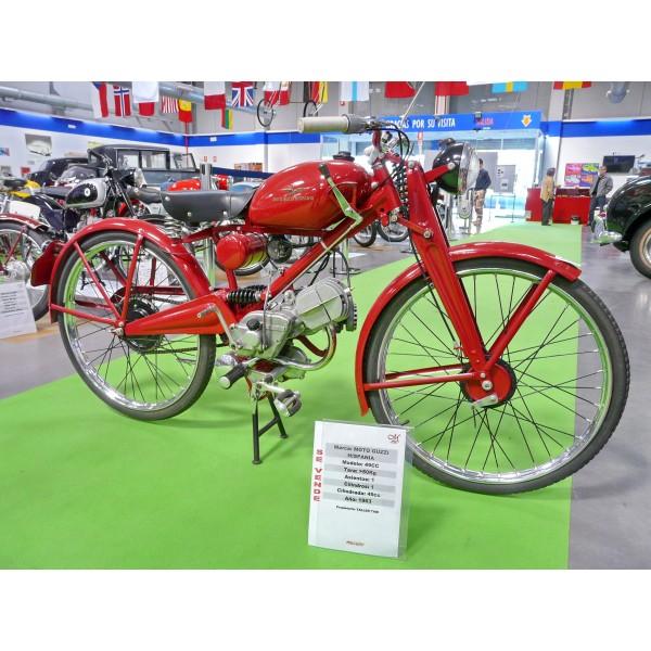 Guzzi Hispania 49cc. año 1963
